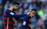 """Pique: """"Tôi hiểu rất rõ về Neymar"""""""
