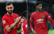 Đội hình đắt giá nhất thế giới: Bruno áp đảo cặp tiền vệ Chelsea, 'mũi đinh ba' MHR