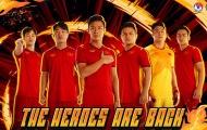 ĐT Việt Nam công bố áo đấu 2021, ra mắt đình đám chưa từng có ở châu Á