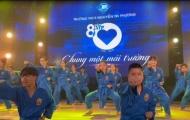 Màn trình diễn ấn tượng của võ sinh Vovinam tại lễ kỷ niệm 80 năm thành lập trường THCS Nguyễn Tri Phương