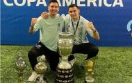 Messi nhắn gửi đến sao Aston Villa một lời sau chức vô địch Copa