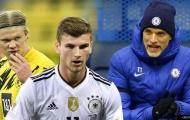'Dortmund khó chấp nhận đề nghị lấy Werner đổi Haaland'