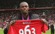 Không chỉ M.U, Usain Bolt còn cổ vũ một CLB Premier League khác