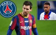 Neymar hành động, giúp PSG thuyết phục Messi