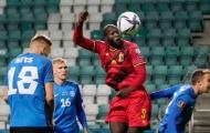 Lukaku lập cú đúp, Bỉ thắng đậm Estonia