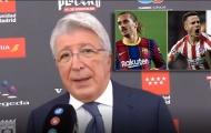 Chủ tịch Atletico đính chính sự thật về việc bán Saul cho Chelsea