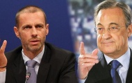 Perez bị chủ tịch UEFA đá đểu vì muốn mua Mbappe
