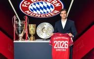 CHÍNH THỨC: Bayern gia hạn với Goretzka