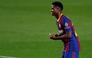 Barca có động thái cứng rắn với Ansu Fati