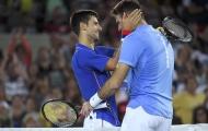 Hiểm nguy rình rập Novak Djokovic