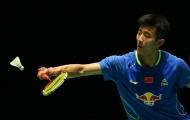 Sốc: Giải cầu lông triệu USD chỉ còn 7 tay vợt