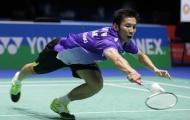 Tiến Minh dừng bước ở giải cầu lông Thái Lan Masters