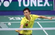 Tiến Minh dừng bước ở vòng 2 giải Malaysia mở rộng