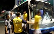 Cổ Động Viên Sài Gòn FC bao vây, ném đá vỡ xe đội Thanh Hóa