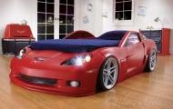 'Ngất ngây' với 'giường xe đua' Corvette cực độc