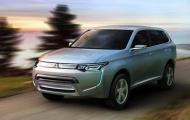 Mitsubishi Outlander mới lần đầu lộ diện