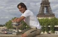 Nadal ôm cúp giữa lòng Paris