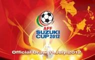 Công bố lịch bốc thăm chia bảng AFF Suzuki Cup 2012