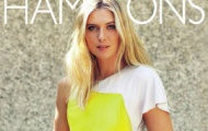 Video: Vẻ quyến rũ 'chết người' của Sharapova trên tạp chí Hamptons