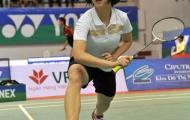 Giải vô địch cầu lông các tay vợt xuất sắc toàn quốc 2012: Lê Thu Huyền lật đổ Vũ Thị Trang