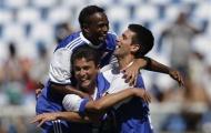 Djokovic đá bóng với Zico và Bebeto
