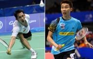 Tiến Minh đọ vợt với số 1 Lee Chong Wei