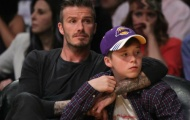Chùm ảnh: Cởi áo cầu thủ, Beckham là một người cha tuyệt vời