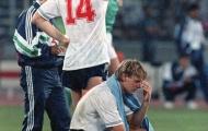 Khoảnh khắc World Cup: Tấm thẻ vàng oan nghiệt của Paul Gascoigne (1990)