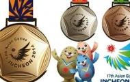 Bảng tổng sắp huy chương Asian Games 2014
