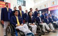 Đoàn thể thao người khuyết tật Việt Nam xuất quân đi Incheon