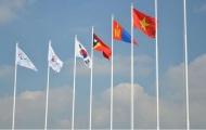 Lễ thượng cờ Đoàn Thể thao Việt Nam tại Asian Para Games 2