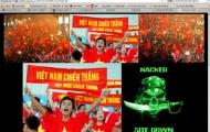Hacker tấn công trang chủ Liên đoàn Bóng đá Việt Nam