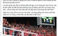 NSƯT Chí Trung: Không thích công an điều tra cầu thủ Việt Nam