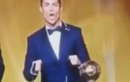 Video: Tuyển tập ca nhạc C.Ronaldo hú hài hước tại QBV 2014