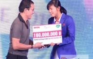Ánh Viên nhận hơn một tỉ đồng trong buổi giao lưu tại Sài Gòn