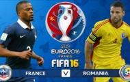 Video: Pháp 2-1 Romania (Vòng bảng Euro 2016)