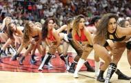 Các cô gái Miami Heat làm nóng cuộc đụng độ với Celtics