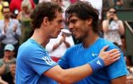 Điểm tin thể thao 4/12: Murray trải lòng về 'món nợ' với Nadal; Usain Bolt phấn khởi đón 'tin vui' lần thứ 6