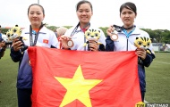 SEA Games 29: Cung 3 dây nữ đánh rơi huy chương vàng