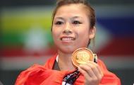 Nữ whusu đoạt huy chương vàng trong ngày giỗ cha