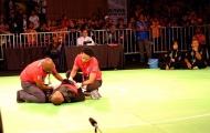 Võ sĩ Malaysia giành HCV dù đã gục xuống sàn khi đang đấu
