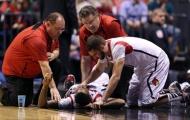 Chảy máu nhưng không nghiêm trọng, tại sao VĐV bóng rổ vẫn bị cấm?