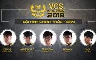 VCS mùa xuân 2018: Thách thức cho nhà vô địch