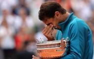 Nadal rơi lệ khi lần thứ 11 đăng quang Roland Garros