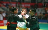 Trọng tài xử ép, võ sĩ Malaysia bỏ cuộc ở chung kết pencak silat