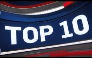 Video top 10 pha bóng ấn tượng nhất NBA ngày 01/12