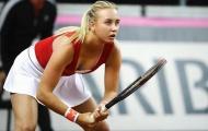 Nhan sắc 'Sharapova đệ nhị' 18 tuổi gây bất ngờ lớn tại Pháp mở rộng