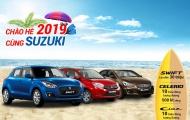 'Chào hè 2019 cùng Suzuki' ưu đãi lên đến 30 triệu đồng