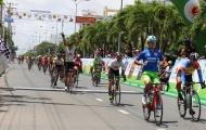 Chặng 2 giải xe đạp đồng bằng sông Cửu Long : An Giang thâu tóm các danh hiệu sau chặng đua dài