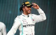 Lewis Hamilton lần thứ 6 vô địch F1